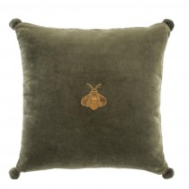 Lacombe Green Velvet Pillow - 60 x 60cm