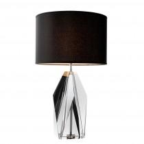 Eichholtz Setai Smoked Crystal Glass Table Lamp