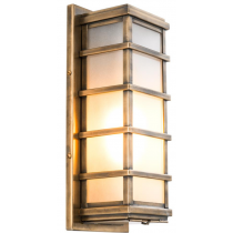 WELBY WALL LAMP ANTIQUE BRASS