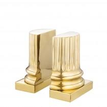 Pillar Brass Bookend Set of 2