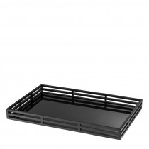 Giacomo Black Rectangular Tray