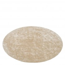 PALAZZO ROUND RUG FEATHER