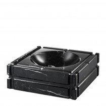 Nestor Black Marble Ashtray