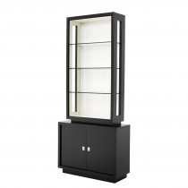 Avenue Montaigne Black & White Cabinet