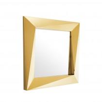RIVOLI MIRROR GOLD SMALL
