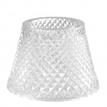 Lilly Clear Glass Candle Holder Shade