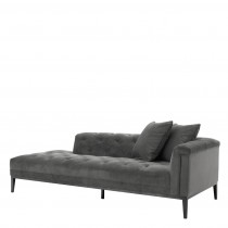 CESARE LOUNGE SOFA GRANITE GREY RIGHT