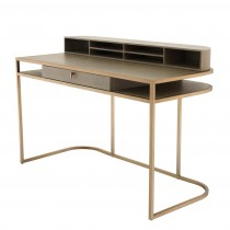 Highland Washed Oak Veneer Desk