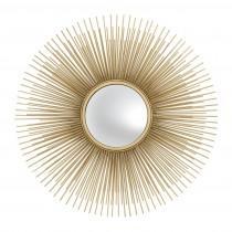 Solaris Small Gold Mirror