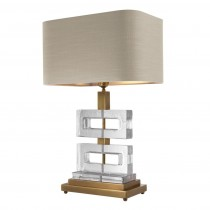 Eichholtz Umbria Brass Table Lamp