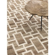 Calypso Natural Jute Carpet - 3 x 4m