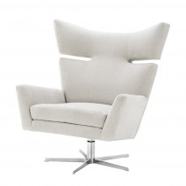 Eichholtz Eduardo Clarck Sand Swivel Chair