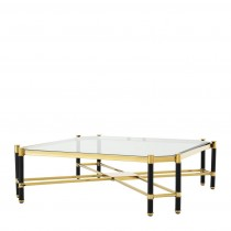 Eichholtz Florence Gold & Black Coffee Table