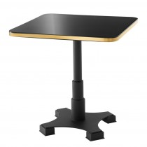 Avoria Square Black Dining Table