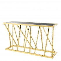 Eichholtz Cristiano Gold Console Table