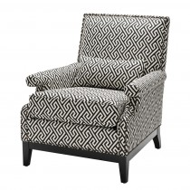 Eichholtz Goldoni Dudley Black Chair