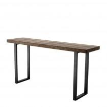 Gregorio Oak Veneer Console Table