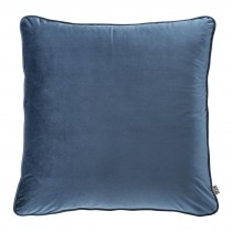 Roche Blue Velvet Pillow - 60 x 60cm