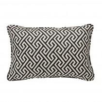 Dudley Black Pillow