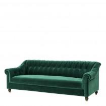 Brian Cameron Green Sofa