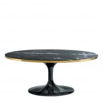 Eichholtz Parme Oval Black Coffee Table