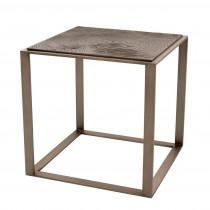 Zino Rose Bronze Side Table
