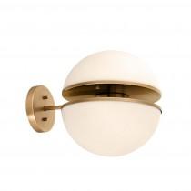 Spiridon Antique Brass Wall Lamp
