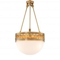 Bistroquette Antique Brass Chandelier