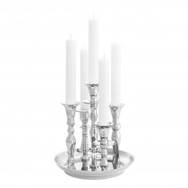 Rosella Silver Candle Holder
