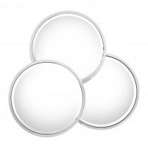 Sensation Round Polished Stainless Steel Mirror