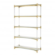 Trento Gold Cabinet