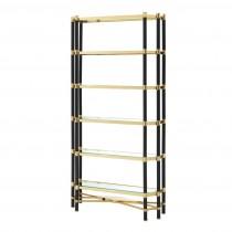 Florence Gold & Black Cabinet
