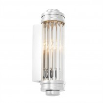 Gascogne Extra Small Nickel Wall Lamp