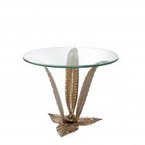 Plantation Brass Side Table