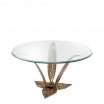 Plantation Brass Coffee Table