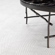 Herringbone Ivory Carpet - 1.7m x 2.7m
