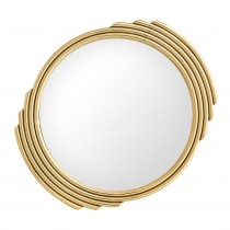 Cesario Gold Mirror