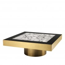 Tatler Brass Coffee Table