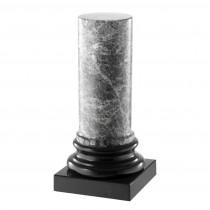 Porto Black & Grey Marble Column