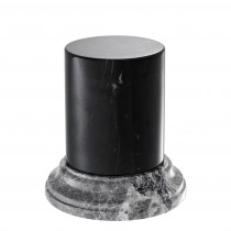 Aveiro Black & Grey Marble Column