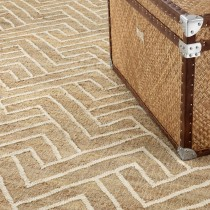 Sazerac Natural & White Carpet - 3m x 4m