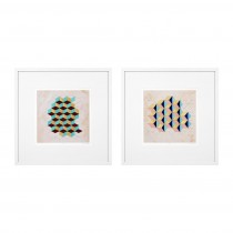 Geometric Pattern Play Set of 2 Prints