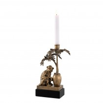 Silvio Brass Candle Holder