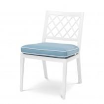 Paladium White Outdoor Dining Chair