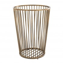 Baleana Brass Towel Basket