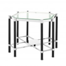 Florence Silver Side Table