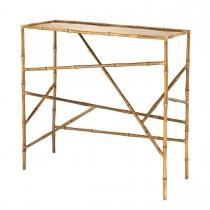 Wailea Vintage Brass Console Table