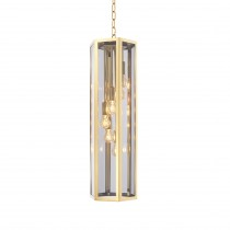 Rondoni Gold & Smoked Glass Chandelier