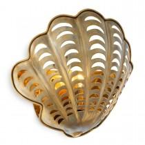 Larabee Vintage Brass Wall Lamp