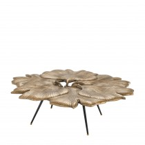 Ginkgo Brass Coffee Table